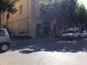 san severo negozio bomba 29-5-2015