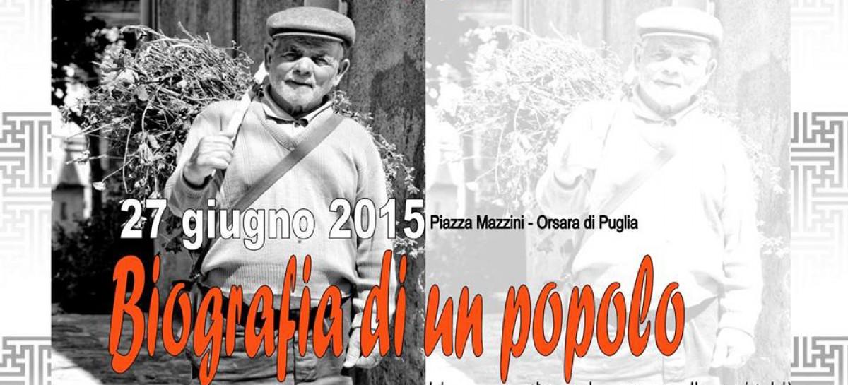"""Orsara, va in scena la """"Biografia di un popolo"""" – 27 Giugno"""