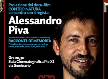 """Il regista Alessandro Piva a Bovino incontra i giovani video-makers che """"raccontano"""" i Monti Dauni – 4 Giugno"""