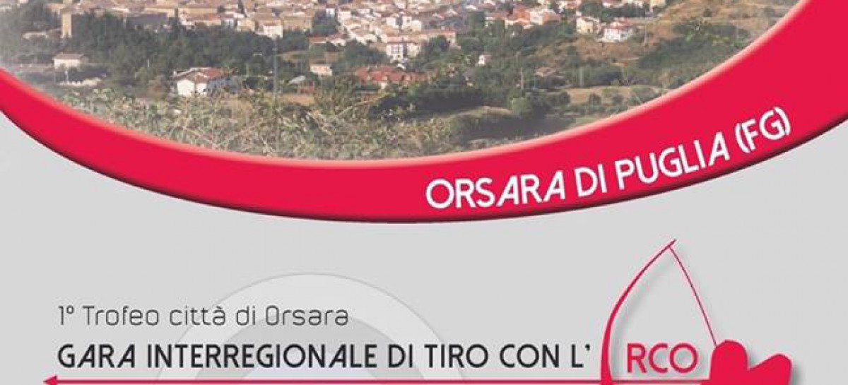 A Orsara 100 arcieri da tutto il Sud Italia – 14 Giugno 2015