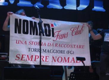 I Nomadi lasciano il segno a Torremaggiore