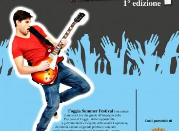 Foggia Summer Festiva – SpazioGiovani