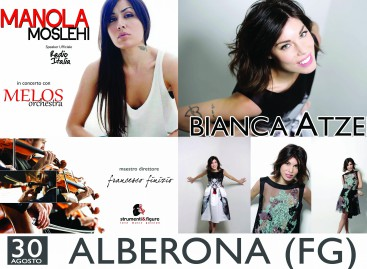 Alberona Estate, finale col botto: Bianca Atzei in concerto