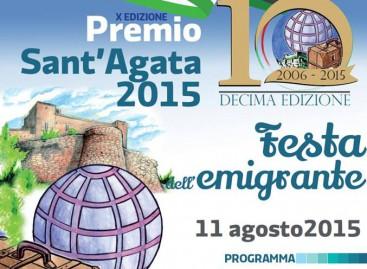 A SANT'AGATA DI PUGLIA LA DECIMA EDIZIONE DELLA FESTA DELL'EMIGRANTE – 11 Agosto