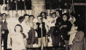 bambini di Alberona 1957