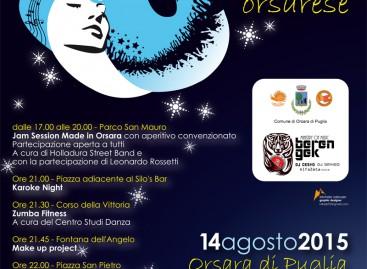 La Notte Bianca di Orsara, 8 spettacoli e 10 ore di musica live – 14 Agosto
