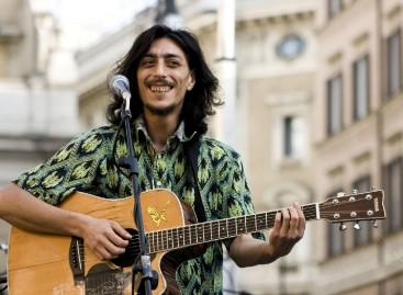 Sandro Joyeux a Borgo Mezzanone, musica contro la schiavitù, 25 Agosto