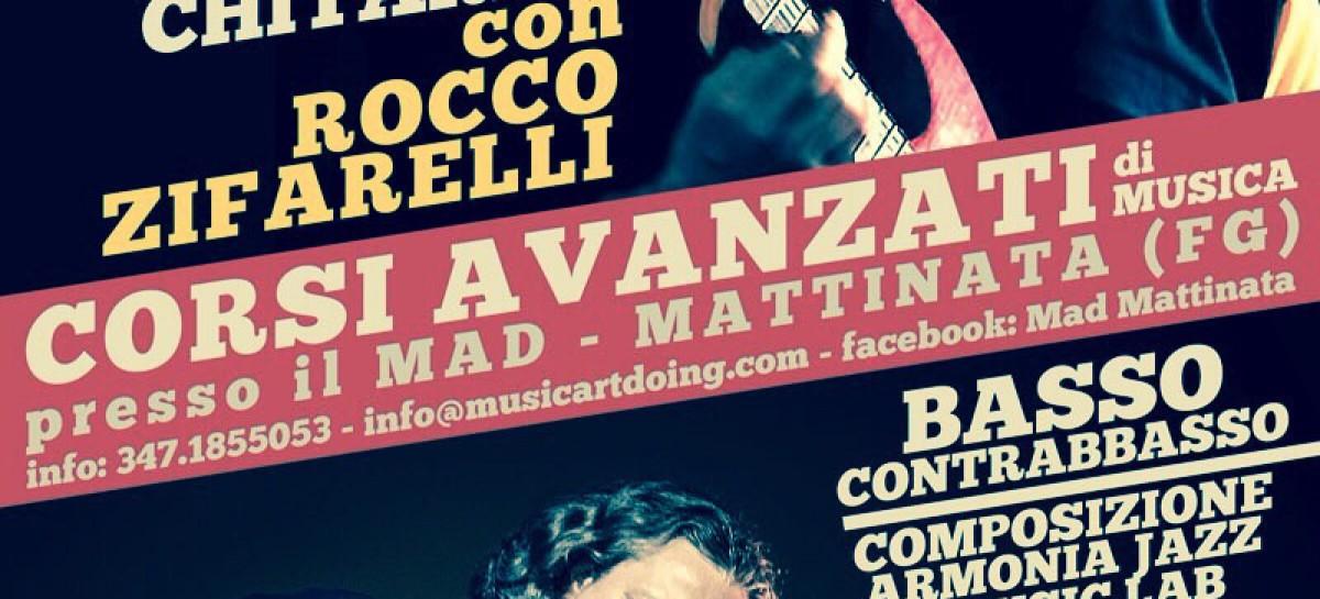 Mattinata, riparte il MAD Music School