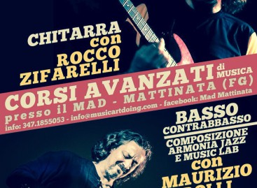 Mattinata, riparte il MAD Music School