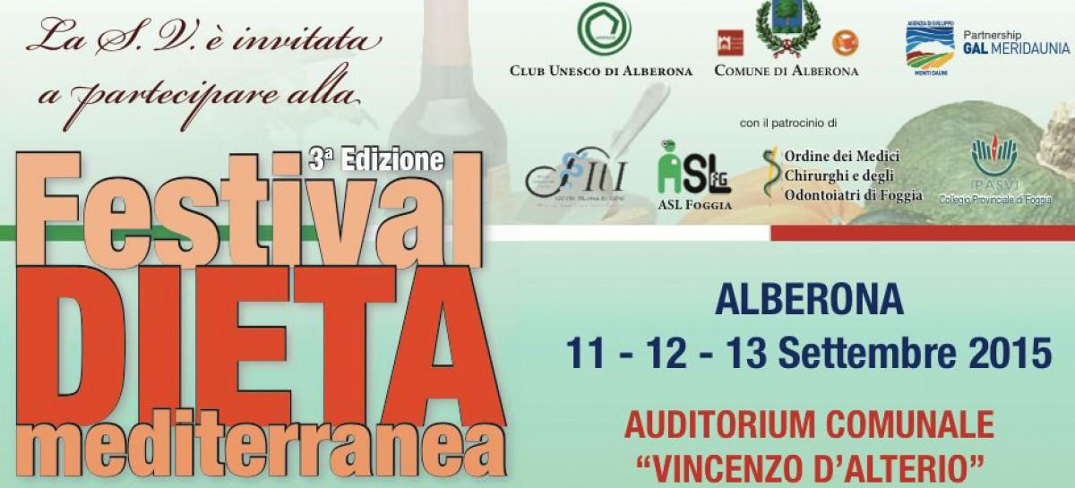 Festival della Dieta Mediterranea ad Alberona, da venerdì 11 a domenica 13 settembre