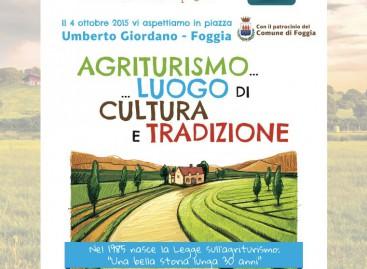 """Giornata Nazionale dell'Agriturismo: a Foggia """"la campagna in città"""""""