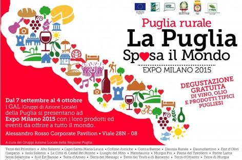 EXPO' 2015 – LA PUGLIA RURALE SPOSA IL MONDO