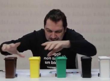 Donato Inglese e il suo secondo video per la raccolta differenziata