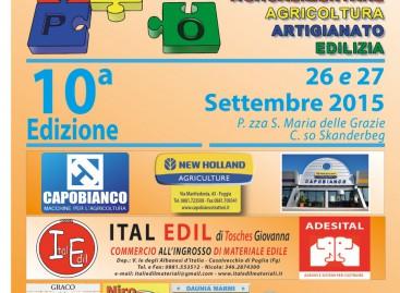 Expo Casalvecchio 2015 – X Edizione – 26 e 27 settembre