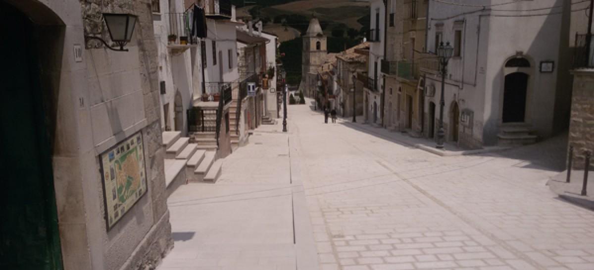 Alberona fa festa, sul paese sventola la Bandiera Arancione
