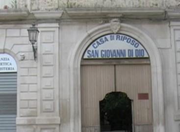 """Sabato 17 Ottobre prossimo verrà inaugurata a Troia la struttura Casa di Riposo """"San Giovanni di Dio"""""""