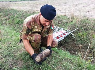 San Severo, ara il suo terreno e trova un' ordigno della seconda guerra mondiale