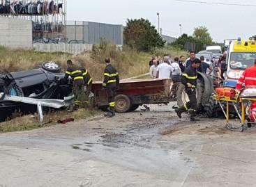 Cerignola, scontro tra un trattore in Via Melfi: deceduto 43enne