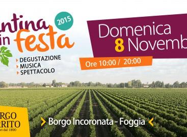 Borgo Incoronata, torna Cantina in Festa e le donne pigiano l'uva – 8 Novembre
