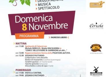 Borgo Incoronata (Fg), domenica c'è Cantina in Festa – 8 Novembre