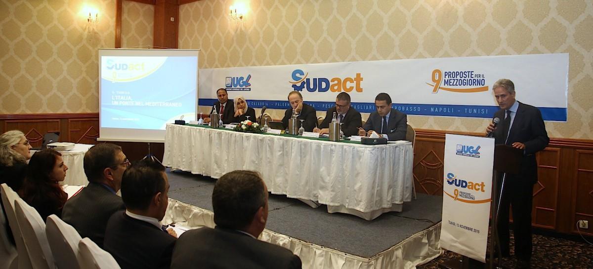 Tunisi, 'Sud Act-Nove proposte per il Mezzogiorno': presente anche Ugl Puglia e Foggia. Gabriele Taranto: 'gettato basi per progetti confederali'