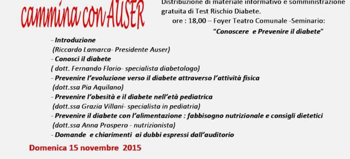 San Severo, test gratuiti e due giorni di iniziative contro il diabete – 14 e 15 Novembre