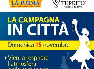 """A Foggia """"La campagna in città"""": musica e degustazioni in via Zara – 15 Novembre"""