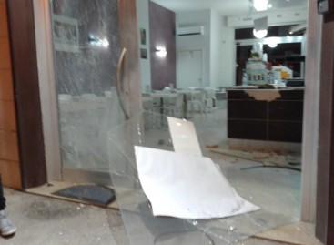 San Severo, tre attentati dinamitardi fatti ai danni di tre singoli esercizi commerciali in una sola notte