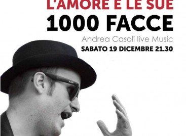 """""""L'AMORE E L SUE 1000 FACCE. Il Cantautore Andrea Casoli debutta da solista al Bibliocafè di Troia"""""""