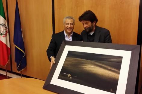 L'arte del lucerino Raffaele Battista al Marte di Cava de' Tirreni – FOTO