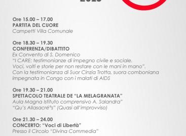"""Martedì 29 Dicembre, a Troia c'è """"I CARE, Giornata di impegno civile e sociale"""" con una raccolta fondi per i Missionari Comboniani"""