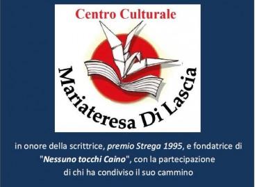 Torremaggiore, presentazione del Centro Culturale Mariateresa Di Lascia – 13 Dicembre ore 20:00