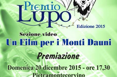 Premio Lupo, sezione video: vince Marco Balzano di Bovino