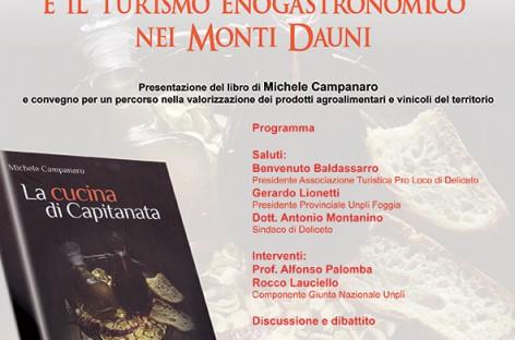 """Deliceto: """"La cucina di Capitanata e il turismo enogastronomico nei Monti Dauni"""" – 29 Dicembre"""