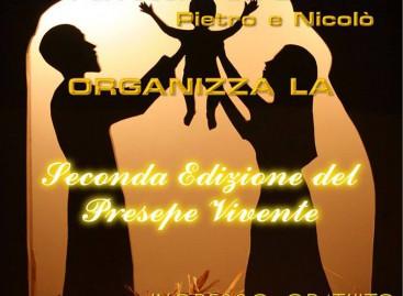 """Casalnuovo Monterotaro, """"Seconda Edizione del Presepe Vivente"""" – 3 Gennaio ore 19:00"""