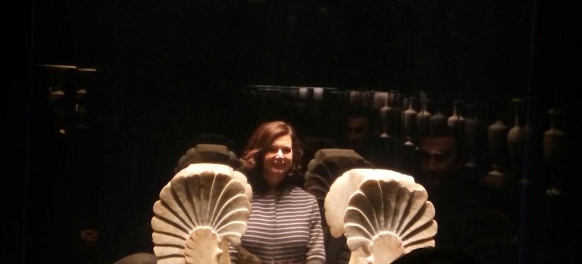 Ascoli Satriano, Laura Boldrini in visita al Museo Archeologico