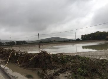 Alluvioni ottobre 2015, aiuti anche alle aziende agricole di Orsara