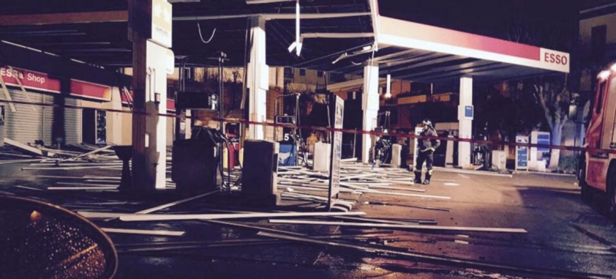San Severo, bomba carta ai danni del distributore Esso, della famiglia D'Aloia di San Severo.