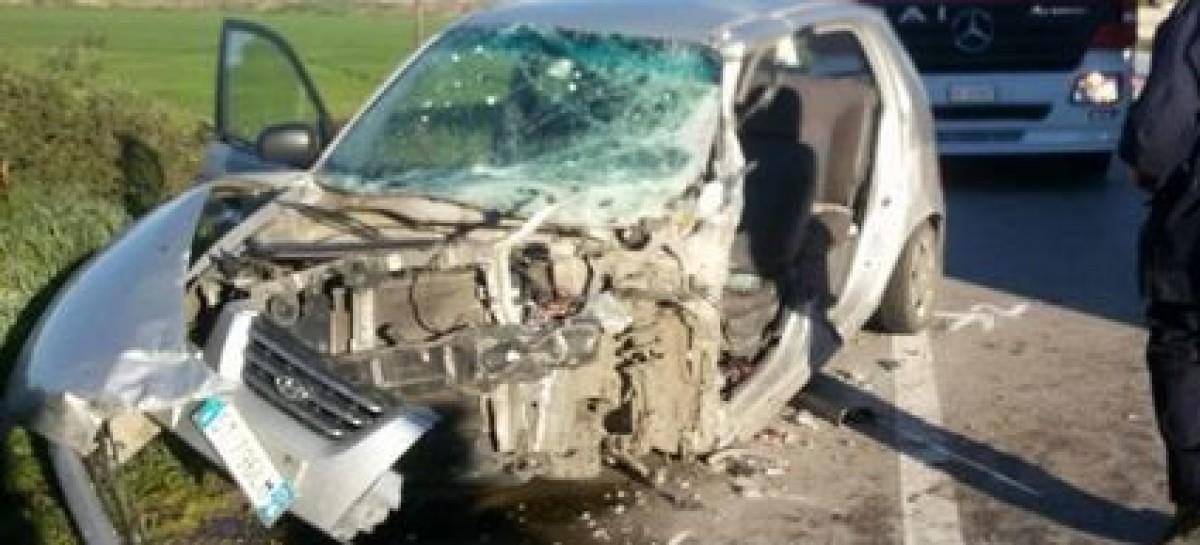 Foggia, grave incidente sulla circonvallazione