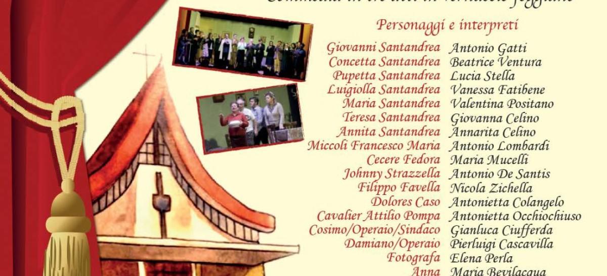 """Foggia: """"Tutte se pote fà… pe cambà"""" al Teatro SS. Guglielmo e Pellegrino – 27 e 28 Febbraio"""
