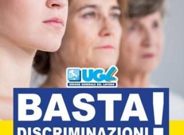 8 marzo: l'Ugl Foggia aderisce al presidio di piazza per dire 'Basta' #discriminazioni'.