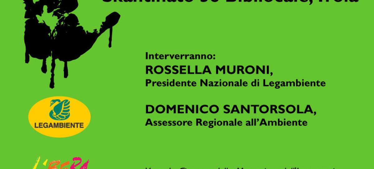 """""""Ecomafia"""", Venerdì a Troia la Presidente Nazionale di Legambiente Rossella Muroni e l'Assessore Regionale all'Ambiente Mimmo Santorsola"""
