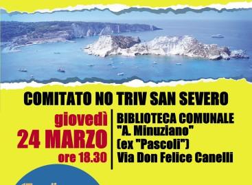 Difendiamo il nostro mare. San Severo, 24 marzo, ore 18.30, Biblioteca Comunale.