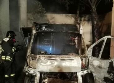 Apricena, incendiata (per la seconda volta) ambulanza 118