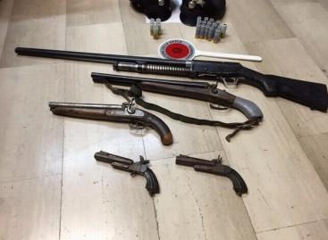 Vieste, ritrovato arsenale nel garage di un quarantasettenne