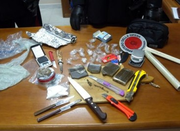 Biccari, 30enne arrestato per detenzione illecita ai fini di spaccio di sostanza stupefacente