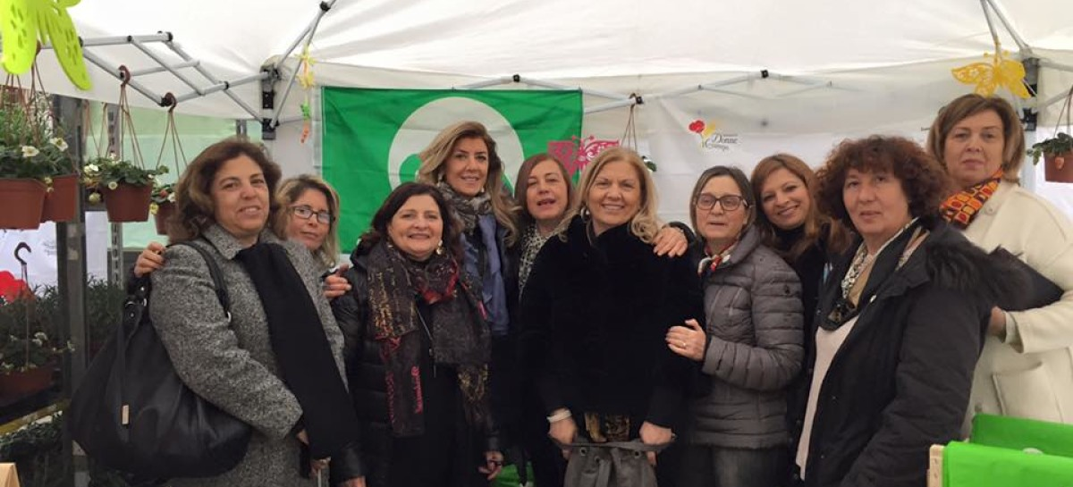 Piantiamola! La green action di Donne in Campo conquista Foggia – FOTO