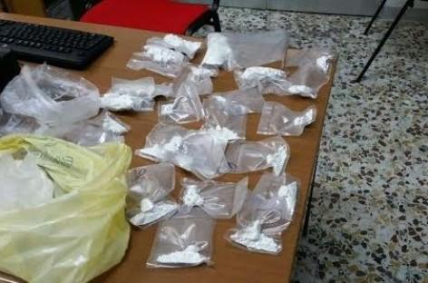 San Severo, due arresti per detenzione ai fini di spaccio: sequestrati 850 gr di cocaina