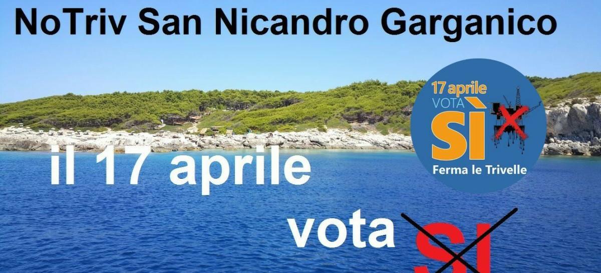San Nicandro Garganico, Nasce il Comitato No-Triv