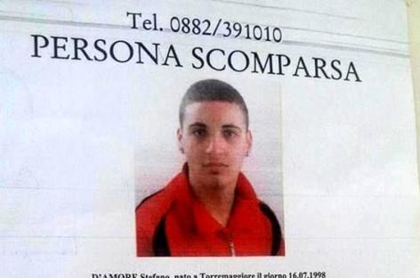 Torremaggiore, si fa vivo Stefano D' Amore: era fuggito a Pavia